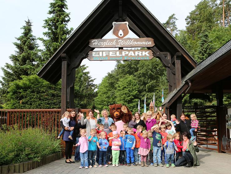 Foto: Eifelpark, Kindergruppe