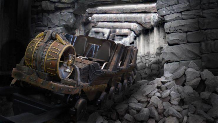 Foto: Phantasialand, RAIK, Der Achterbahnzug von Raik