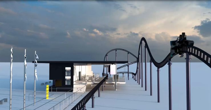 Foto: Skyline Park, Sky Dragster Visualisierung