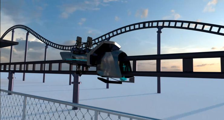 Foto: Skyline Park, Sky Dragster Visualisierung