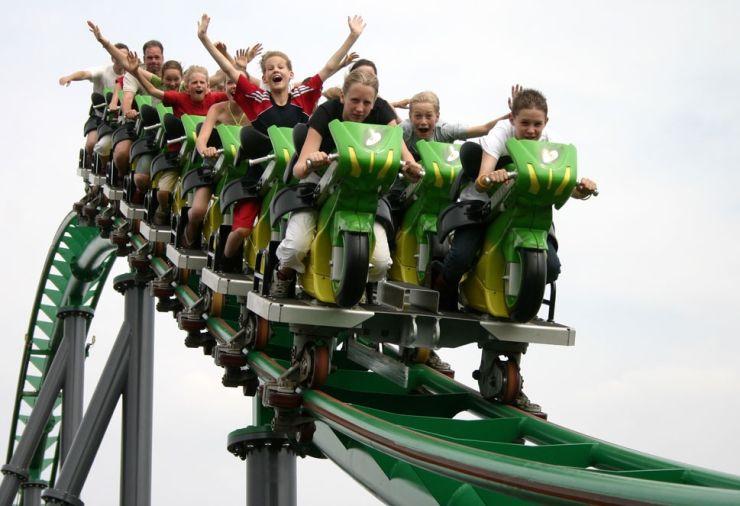 Foto: VEKOMA, Motorbike Launch Coaster, so ähnlich könnte die neue Attraktion aussehen