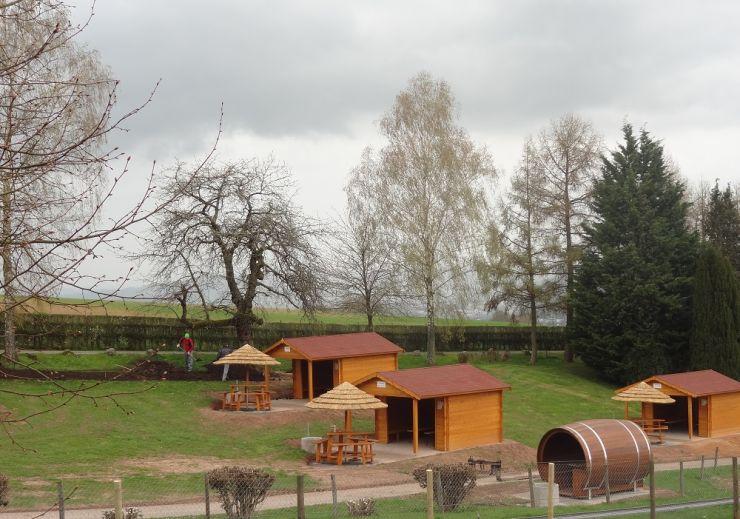 Foto: Erlebnispark Steinau, Grillhütten