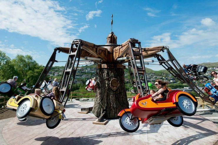 Foto: Technical Park, Neue Familienattraktion 2016 in Tripsdrill