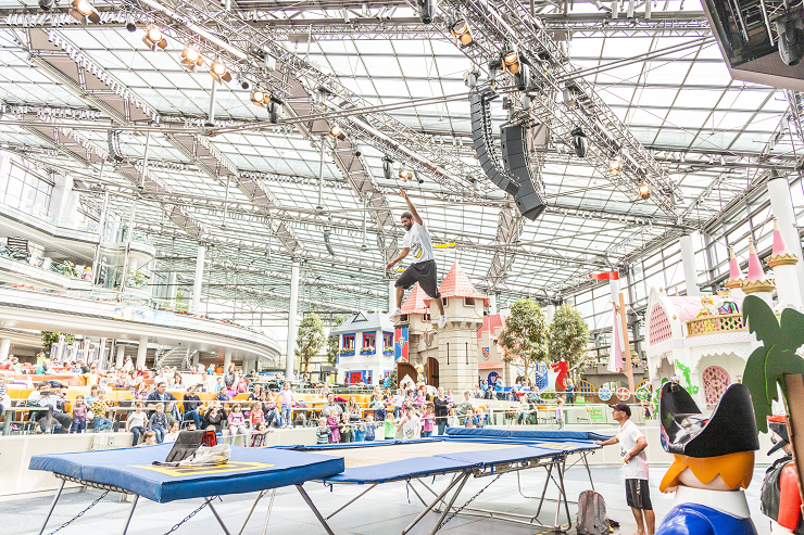 Foto: Playmobil Funpark, Flying Bananas