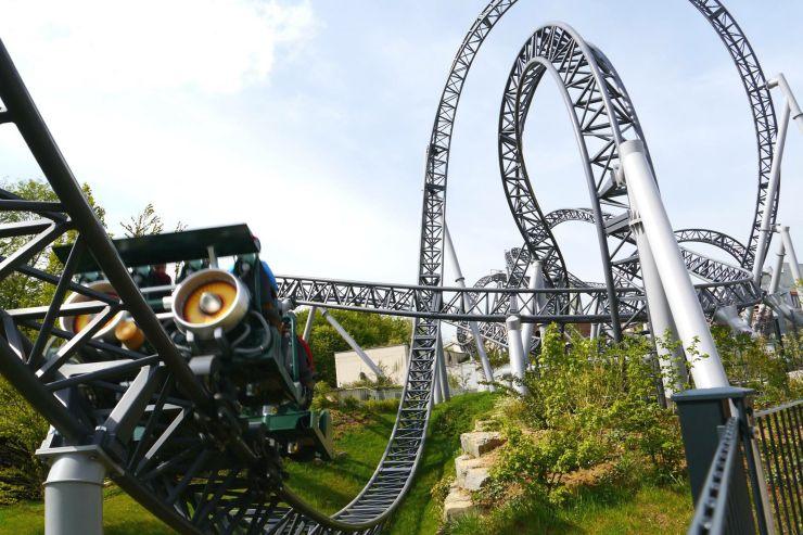 Foto: Erlebnispark Tripsdrill, Katapultachterbahn Karacho