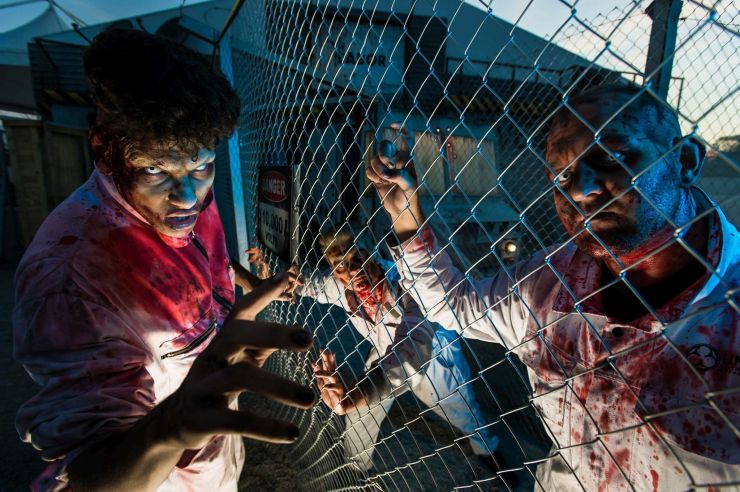 Foto: Europa-Park, Horror Nights - die Zombies sind los!