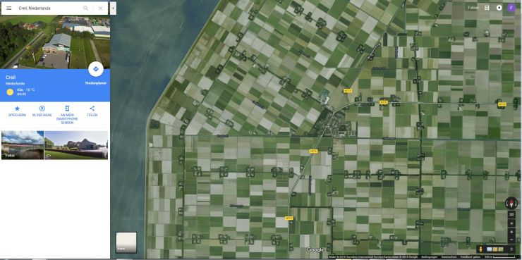 Foto: Google Maps Screenshot, Creil, Flevoland, Netherlands