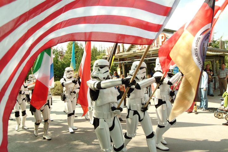Foto: LEGOLAND Deutschland , Star Wars im Legoland