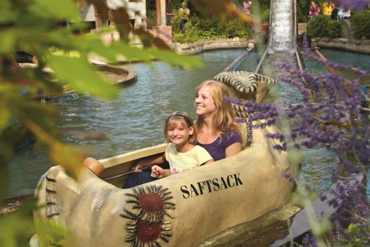 Foto: Erlebnispark Tripsdrill, Wildwasserfahrt für die Kleinen