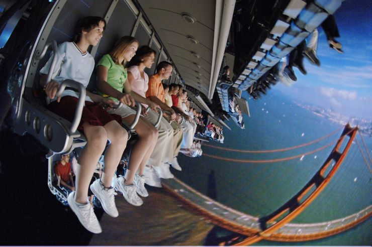 Foto: Disneyland Kalifornien, Soarin' Over California
