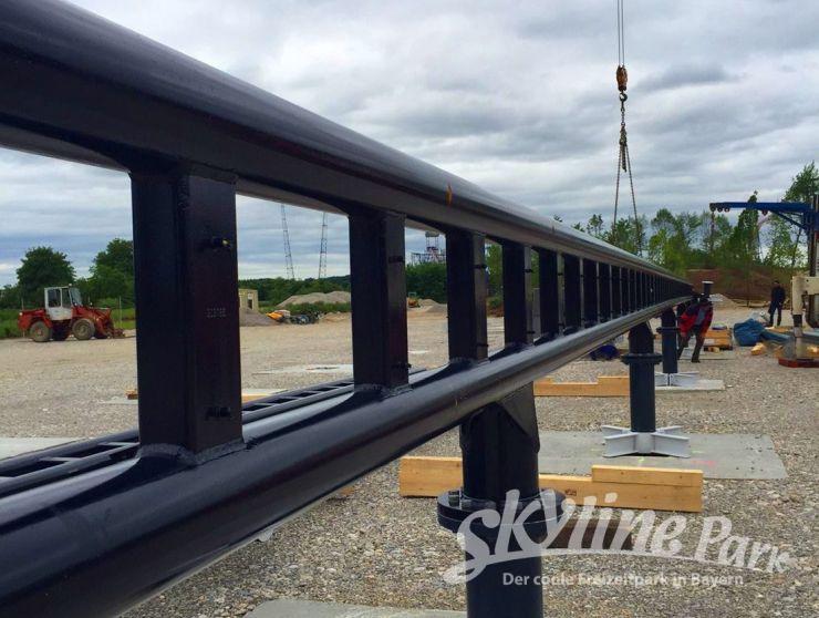 Foto: Skyline Park, Bau-Update Sky Dragster 31.05.2016