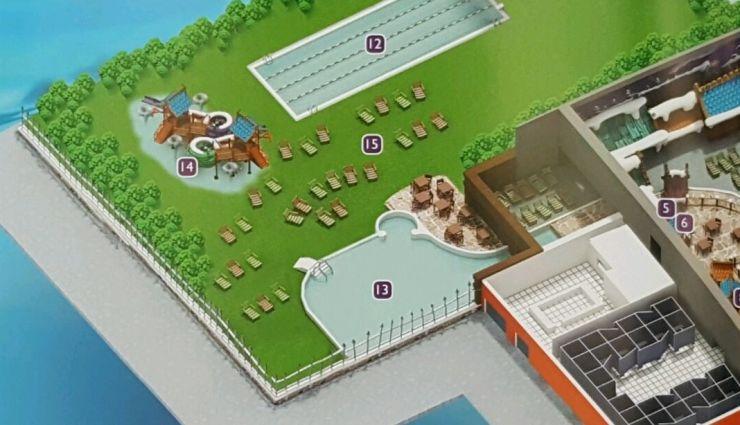 Scan: Holly-Info, Prospekt Holiday Park, Außenbereich