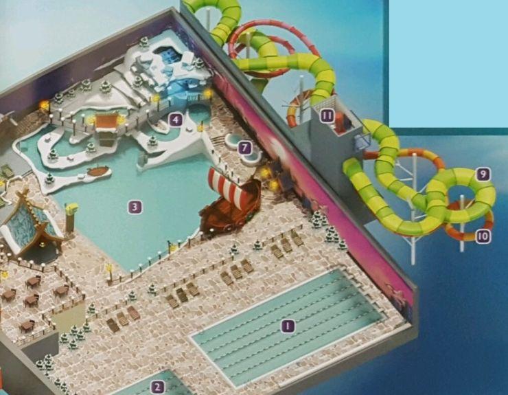 Scan: Holly-Info, Prospekt Holiday Park, Innenbereich