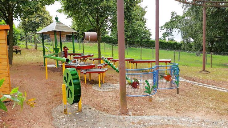 Foto: Erlebnispark Steinau, Wasserspielplatz