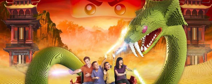 Neu 2017 im LEGOLAND Deutschland Resort – LEGO NINJAGO World mit interaktivem 4D-Fahrspaß