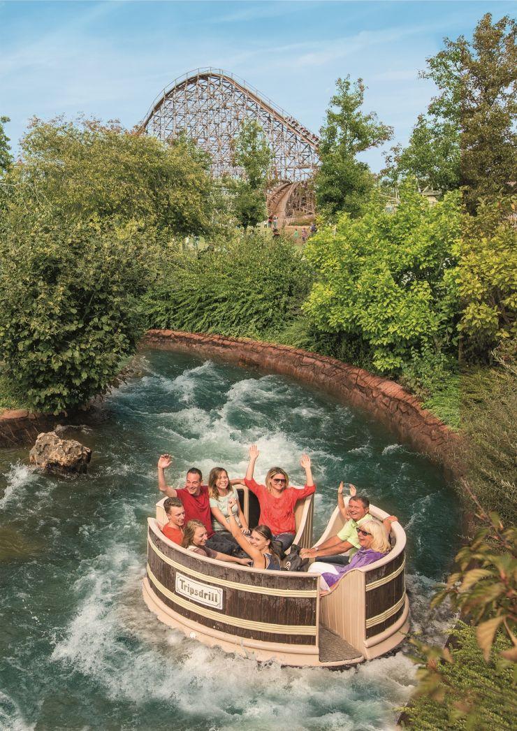 Foto: Erlebnispark Tripsdrill, Waschzuber-Rafting