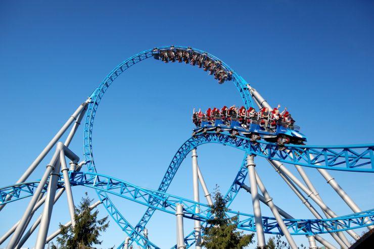 Foto: Europa-Park, Blue Fire Megacoaster