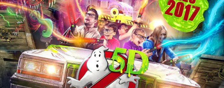 "Neu 2017 im Heide Park Resort – ""Ghostbusters 5D – Die ultimative Geisterjagd"""