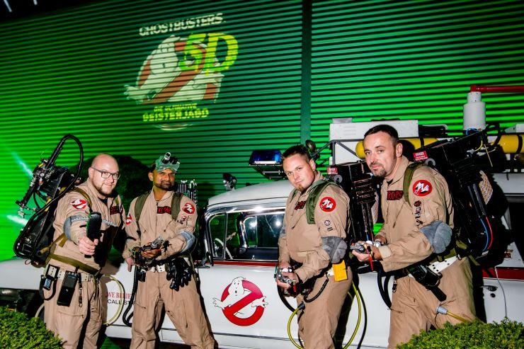 Foto: Heide Park Resort, Ghostbusters 5D – Die ultimative Geisterjagd