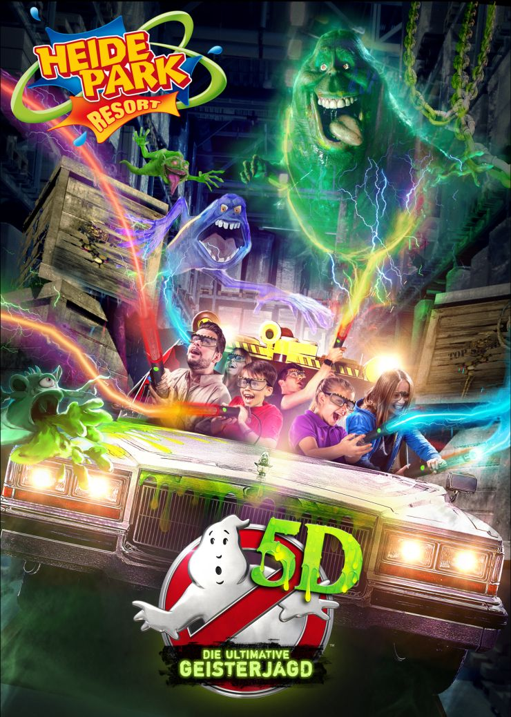 Foto: Heide Park Resort, Ghostbusters 5D – Die ultimative Geisterjagd