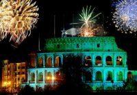 Foto: Europa-Park, Silvester-Feuerwerk