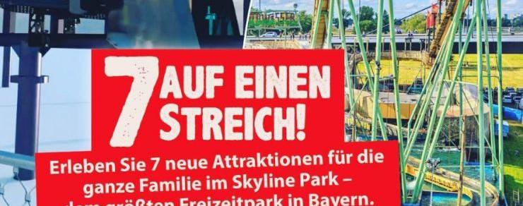 Neu 2017 im Skyline Park – 7 neue Attraktionen