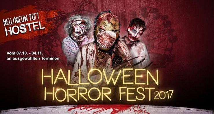 Halloween Horror Fest 2017 Movie Park Germany ab 25 ...