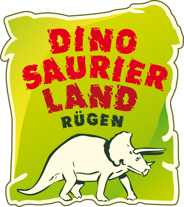 Logo Dinosaurierland Rügen