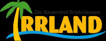 Logo Irrland – Die Bauernhof-Erlebnisoase