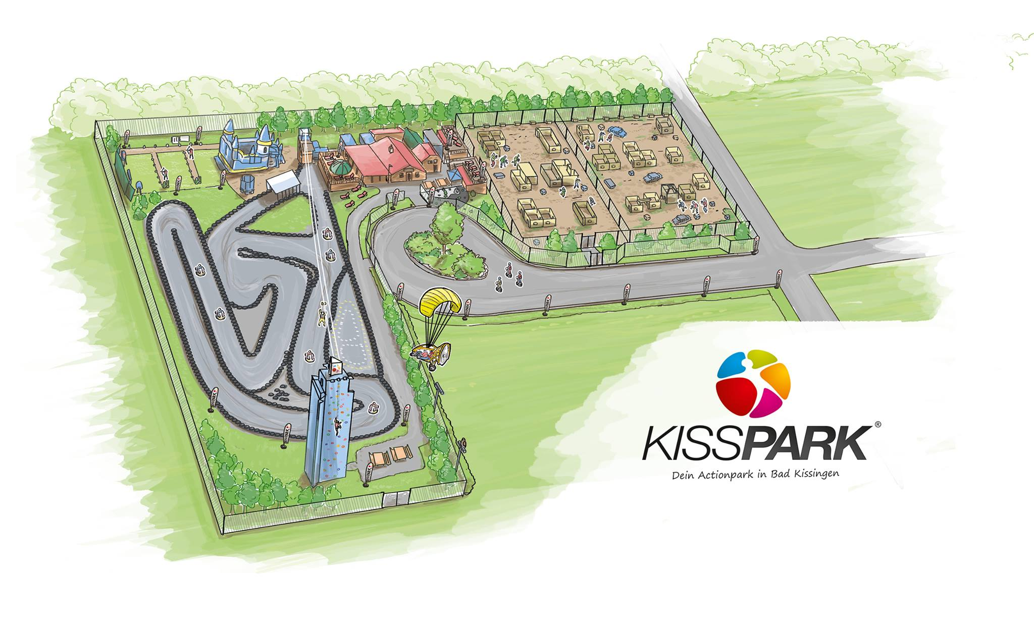 Parkplan KISSPARK