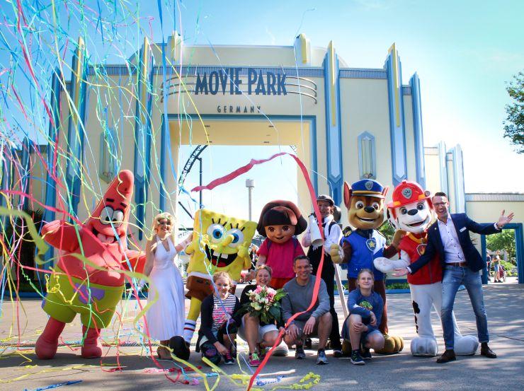 30 Millionster Besucher im Movie Park Germany