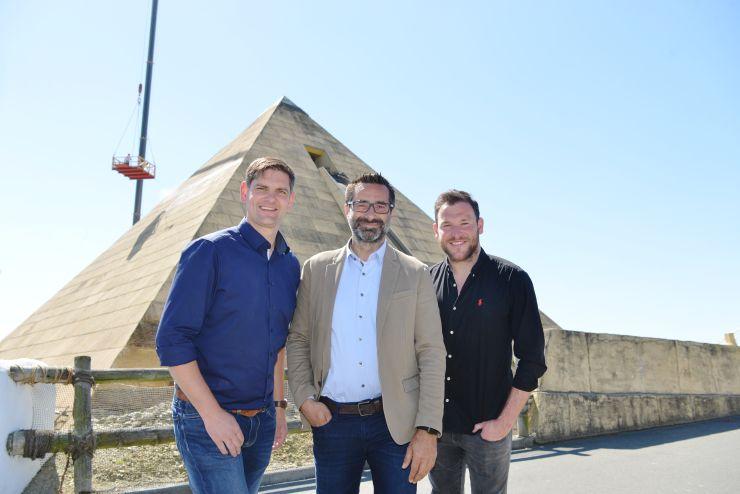 Reinigung der Pyramide in BELANTIS