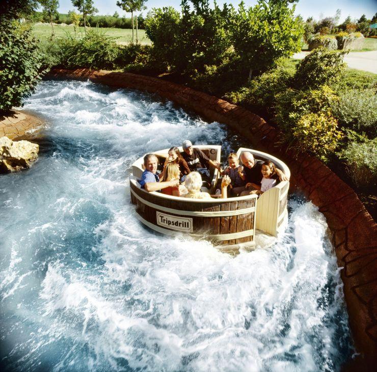 Erlebnispark Tripsdrill Waschzuber-Rafting