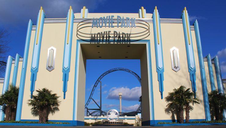 Eingangsbereich Movie Park Germanyq