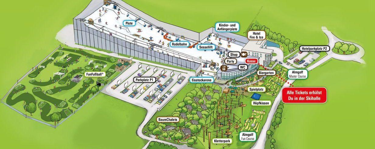 Parkplan Alpenpark Neuss