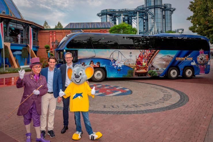 Der Europa-Park Bus