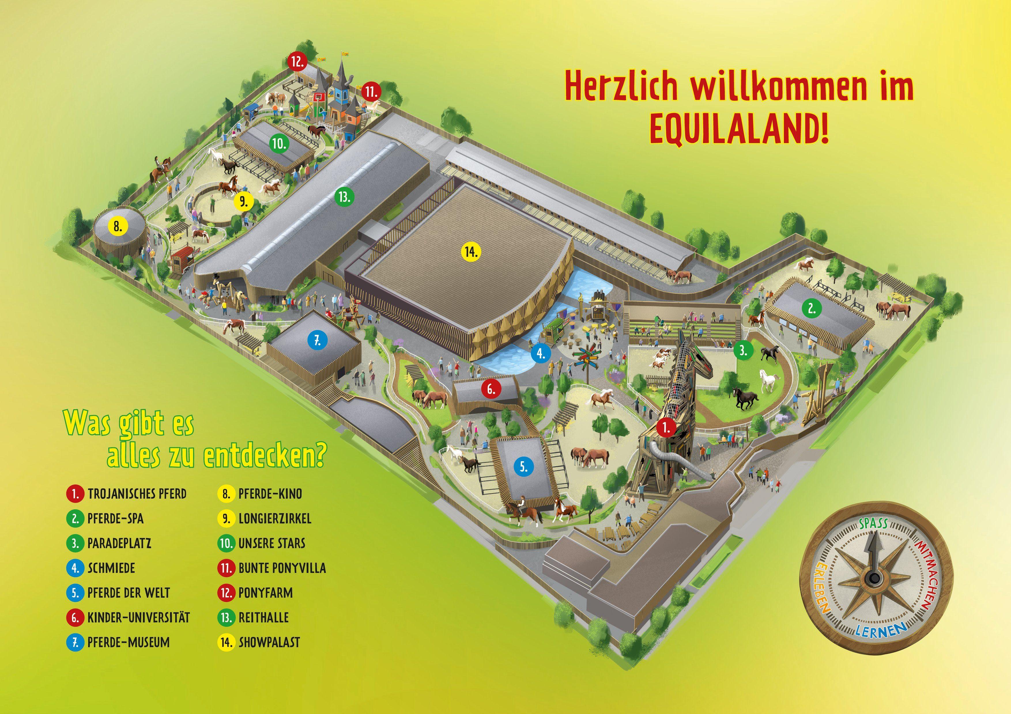 Parkplan EQUILALAND