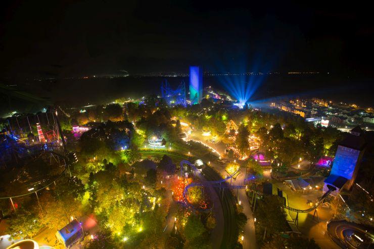Foto: HANSA-PARK, Lichterglanz beim Herbstzauber am Meer