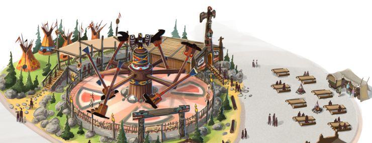 Donnervögel im FORT-FUN Abenteuerland