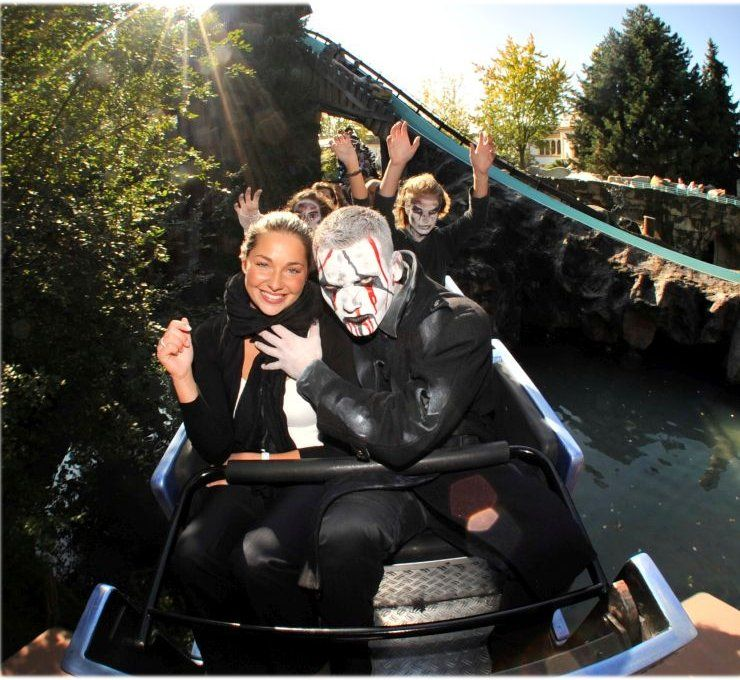 "Halloween und ""Horror Nights - Traumatica"""