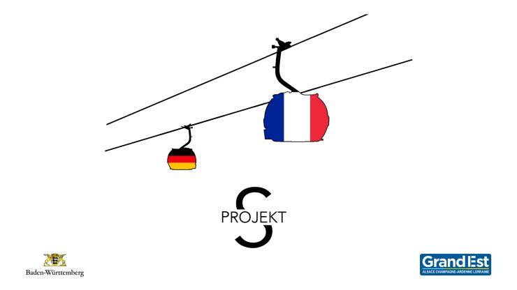Seilbahn zwischen Deutschland und Frankreich