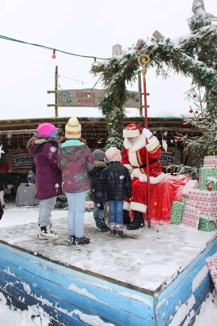 Santa im Foto: FORT FUN Abenteuerland