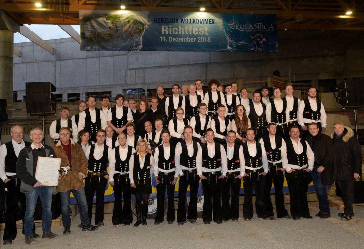 """""""Rulantica - die neue Wasserwelt"""" des Europa-Park feiert Richtfest"""