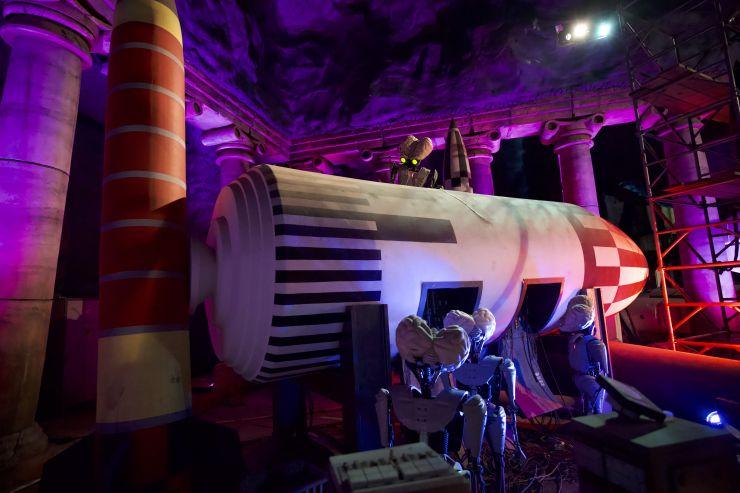 """Mit jeder Menge Familienspaß, neugestalteter Wasser-Themenfahrt """"Area 51 – Top Secret"""" und LOONEY TUNES 4-D Abenteuer in die Saison 2019"""