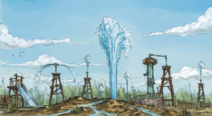 Yellowstone Water Company im Jaderpark
