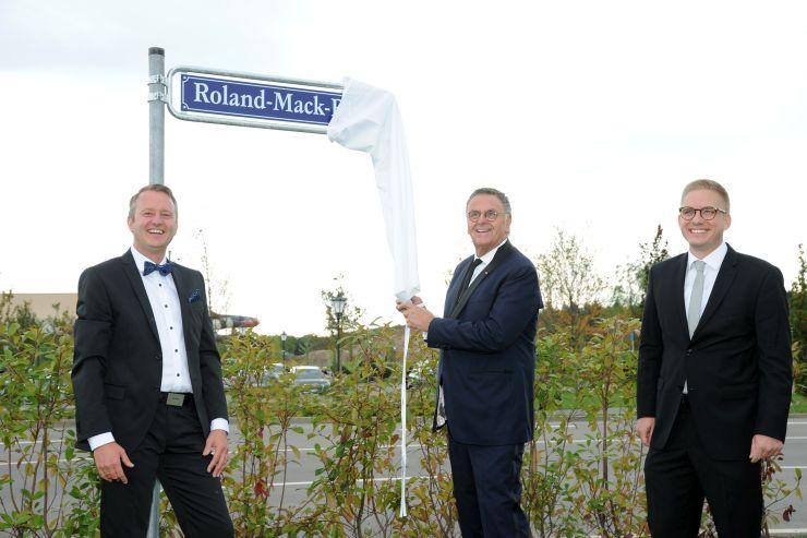 Äußerer Ring in Rust heißt jetzt Roland-Mack-Ring