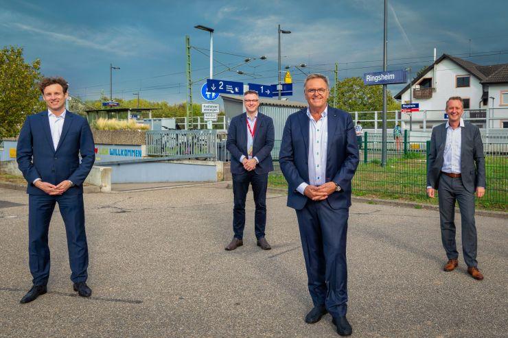 Neuer Fernverkehrshalt in Ringsheim/Europa-Park